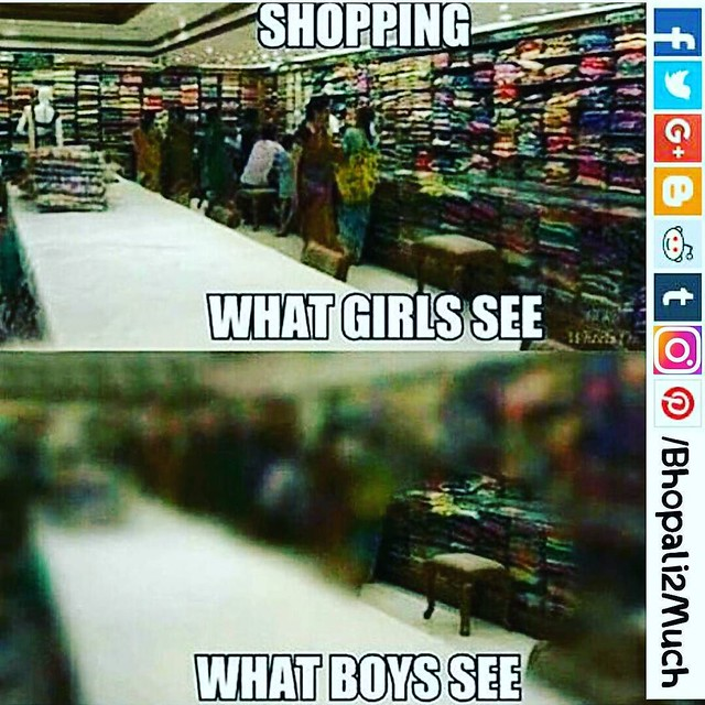 What #girls and #boys see #fun #truth #funny #meme #picture #india #bfgf #india #bhopali2much