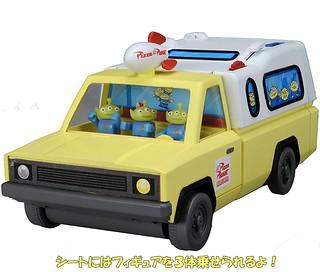 TOMICA 「比薩星球卡車」《玩具總動員》主題店大變身! トイ・ストーリー お店に変身! ピザプラネット・トラック