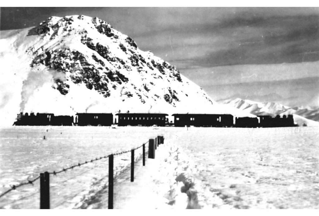 NZR Fairlight - Garston: Big snow of 1939