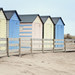 fence friday ~ beach huts