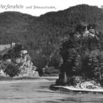 Burg Werfenstein und Insel Wörth 14 1911