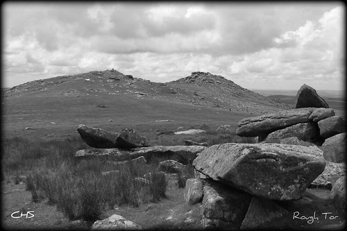 Rough Tor, Bodmin Moor, Cornwall by Stocker Images