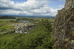 The View From Ladies Lookout, Stirling Castle