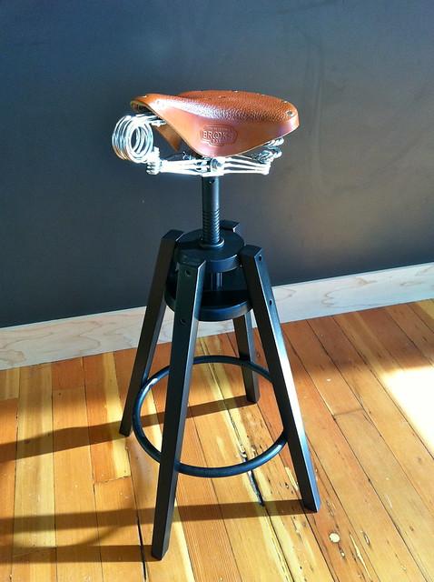 Saddle Stool For Kitchen Island