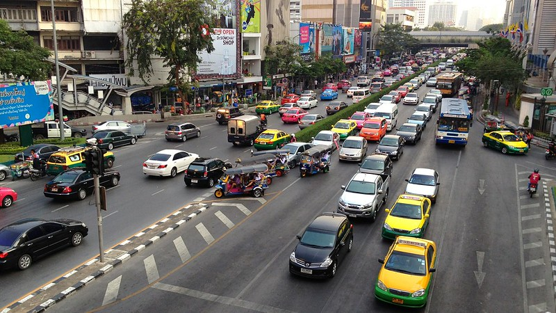 Notorious Bangkok Traffic, Thailand