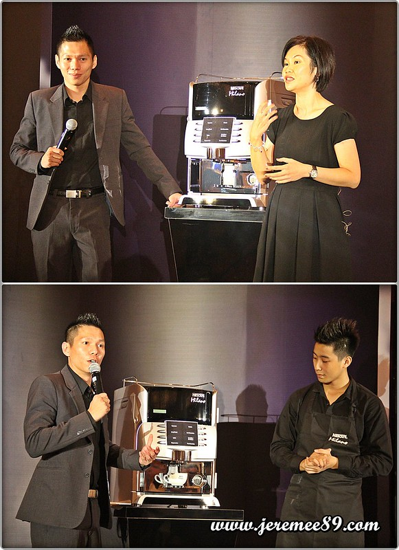 Nescafe Milano Launching @ E&O Hotel - Introduction & Barista