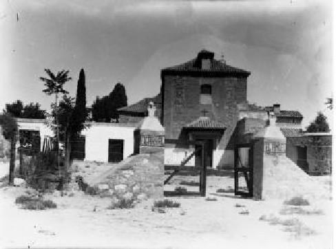 Cigarral del Santo Ángel Custodio a comienzos del siglo XX. Foto Rodríguez