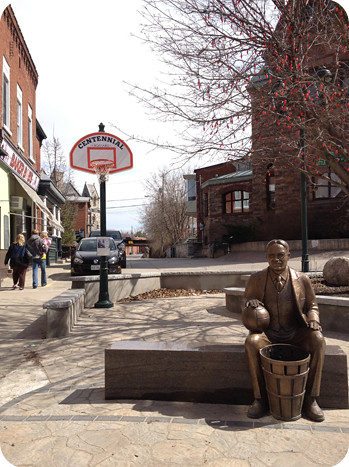 Tribute to Dr. Naismith in Almonte
