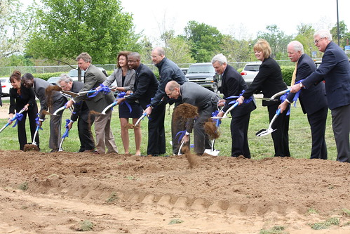 New Central's Groundbreaking