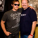 Norman Reedus and Ian by Ian Aberle