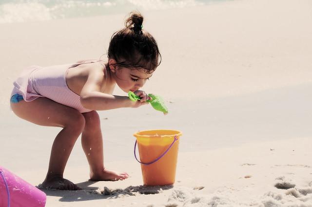 fillin' her bucket