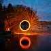 Wire Wool Spinning Reflection by SquidVW