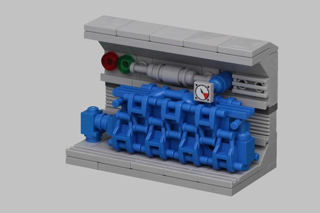 U-Boat Diesel Engine