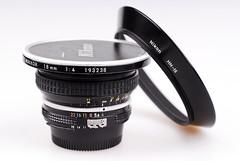 Nikon 18mm f4 Nikkor lens