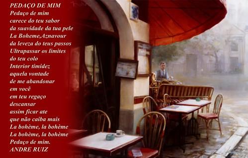PEDAÇO DE MIM by amigos do poeta