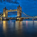 Tower Bridge during the blue hour…(Explored) by ©mlphoto