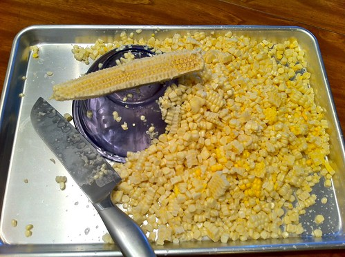 Slice Off Corn Kernels