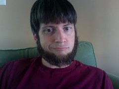 stupid hair and stupid amish beard