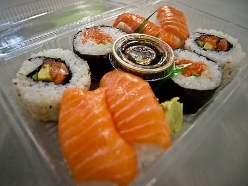 Sushi en Wellington