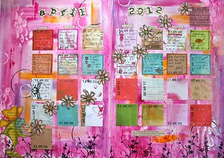 Art journal - calendar