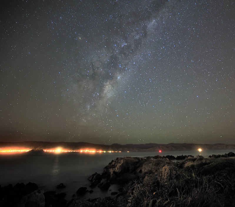 Milky Way seen from Seatoun