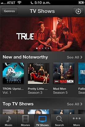 Nuevo iTunes Store