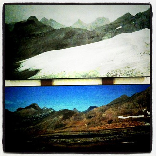 glaciers before and after