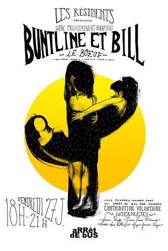 Hank provisoirement rebaptisée Buntline et Bill Le Boeuf