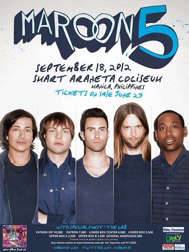 Maroon 5 Manila concert