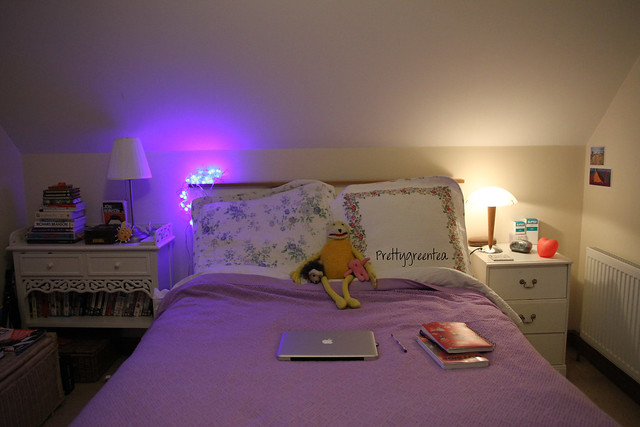 little look inside my bedroom prettygreentea