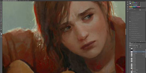 The Last of Us concept artists teases an image