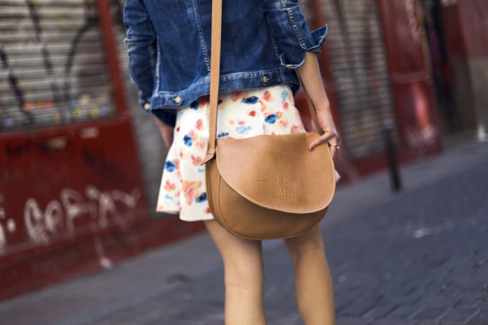 street style barbara crespo floral peplum skirt sendra boots marc by marc jacobs tshirt fashion blogger outfit blog de moda