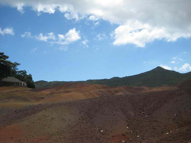 Цветные пески Шамарель