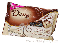 Dove Hazelnut Crisp Dark Chocolate