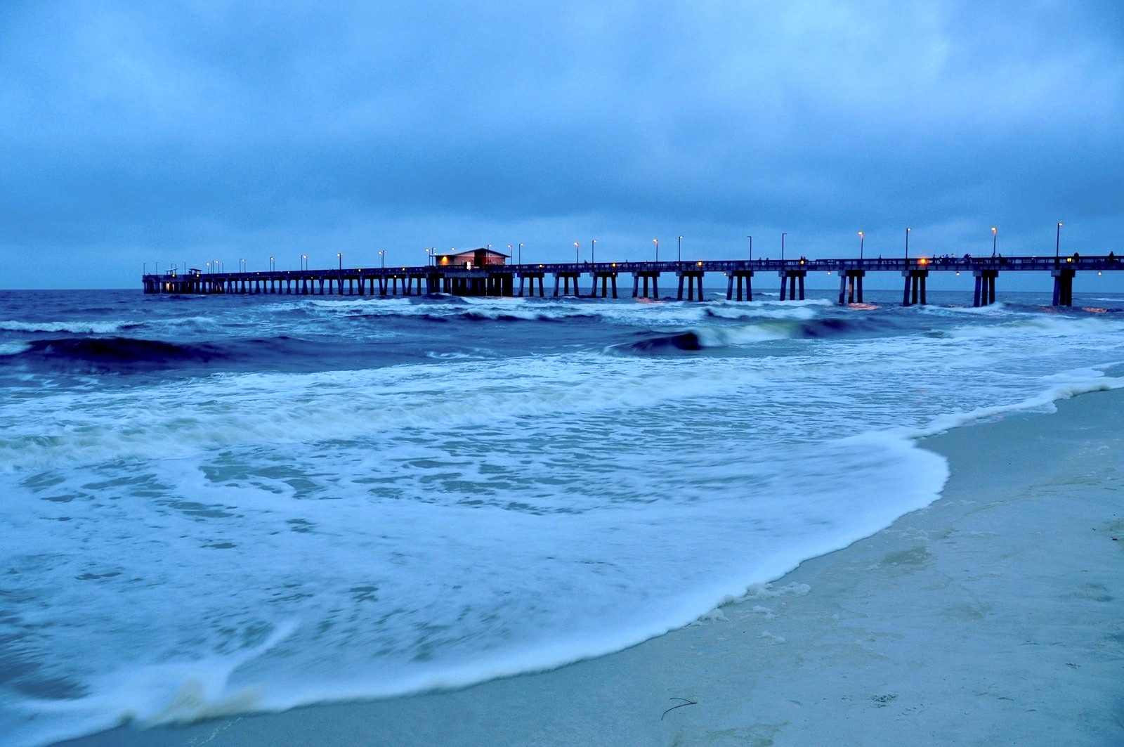 Back to photostream for Pier fishing gulf shores al