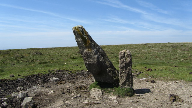 Longstone on Piles Hill