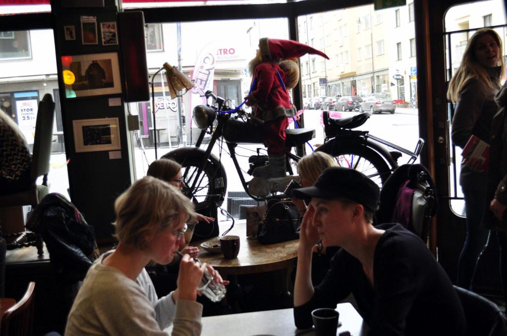 Interior de un bar retro del SoFo