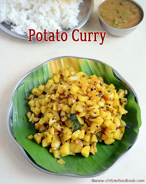 Potato curry brahmin's style