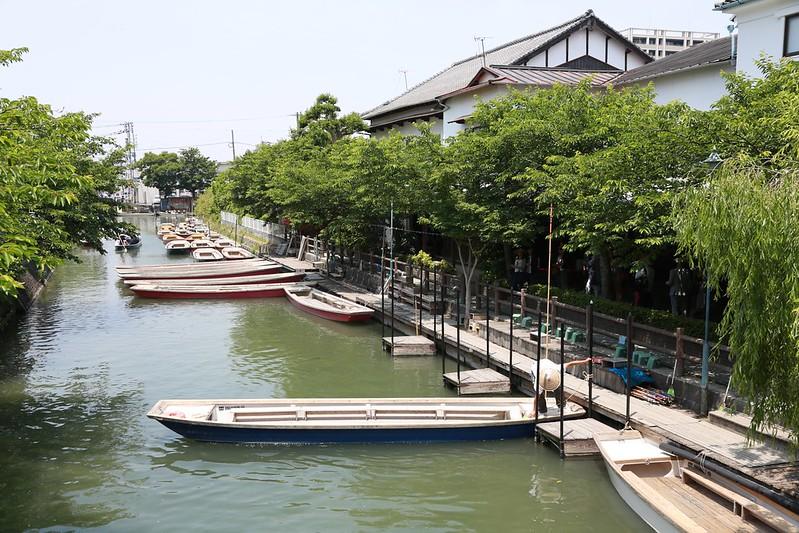 柳川人力船