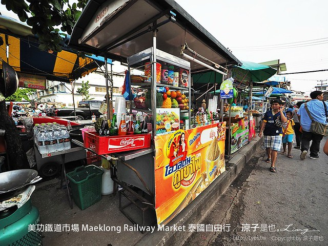 美功鐵道市場 Maeklong Railway Market 泰國自由行 28