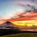 October Fuji sunsets by shinichiro*
