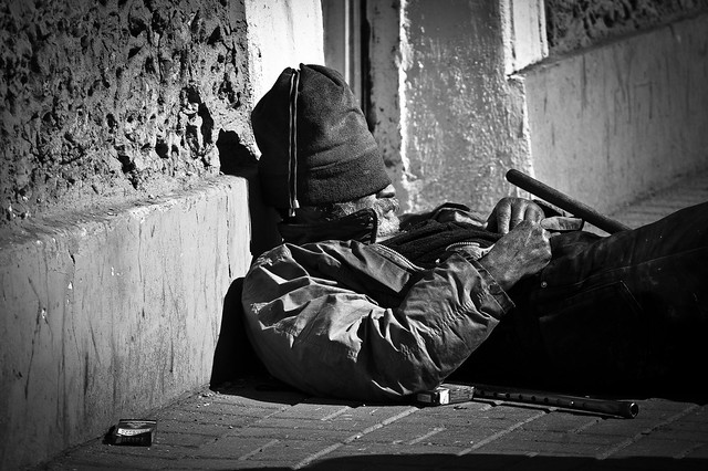 Homeless in St. Petersburg from Flickr via Wylio