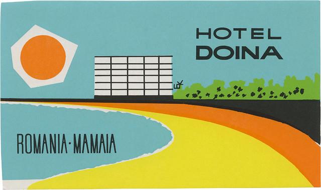 Hotel Doina, Mamaia (76mm x 128mm)