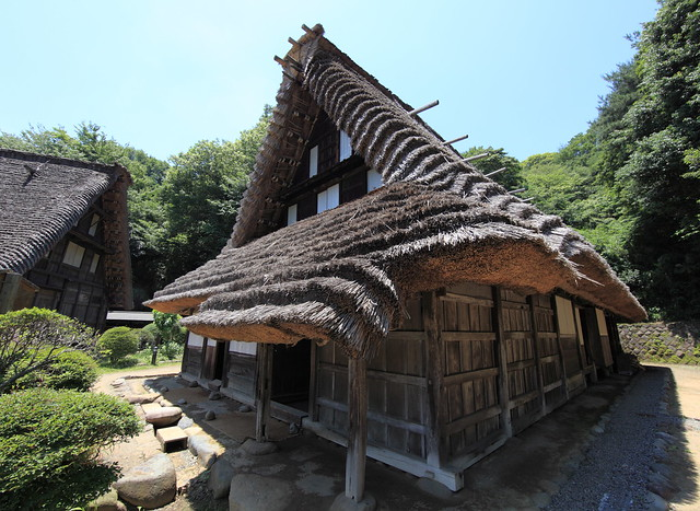 traditional japanese houses essay Traditional japan in spirited away print reference this  disclaimer:  some of the major characters in the film also incorporate aspects of traditional japanese folklore spirits have.