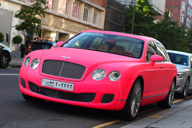 MATTE PINK Bentley Conti