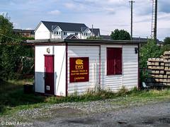 Castleton shunter's cabin