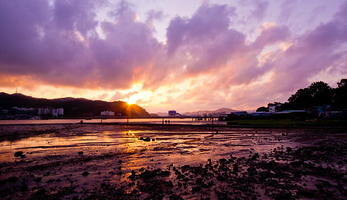 landscape photography photo dusk 風景 macao 澳門 coloane sigma1224 相片 攝影 黃昏 路環 十月初五馬路 s1224 d3100 foursquare:venue=undefined