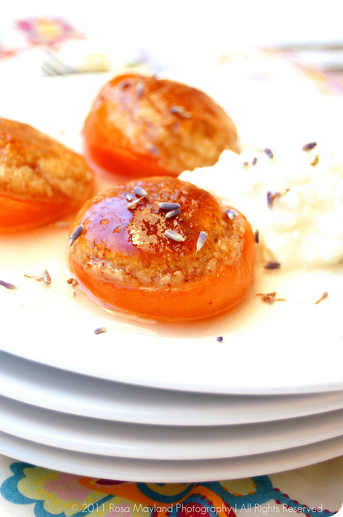 rosa 39 s yummy yums baked apricots stuffed with almond