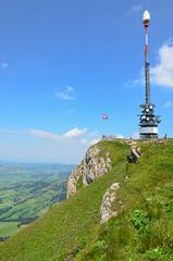 Aussicht vom Hoher Kasten Richtung Appenzell - Schweiz