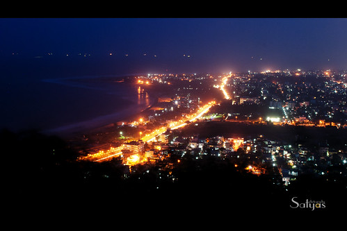 beach night satya vizag d60 visakhapatnam satyaphotography